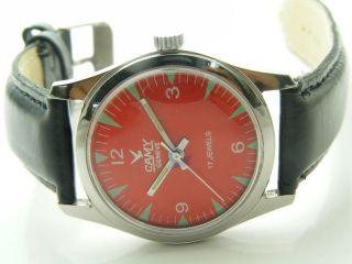 Camy Rarität Armbanduhr Handaufzug Mechanisch Vintage Sammleruhr Bild