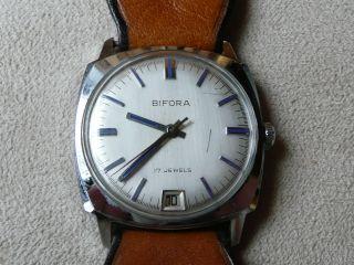 Bifora Hau,  Handaufzug,  Datum - Schnellschaltung Bild