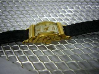 Damenuhr Patek Philippe Handaufzug Gold 18 Ct.  Kaliber 8`` - 80 Bild