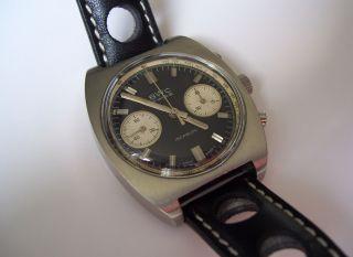 Vintage - Chronograph Bwc Landeron 248 Handaufzug / 1960er - 1970er Jahre Bild