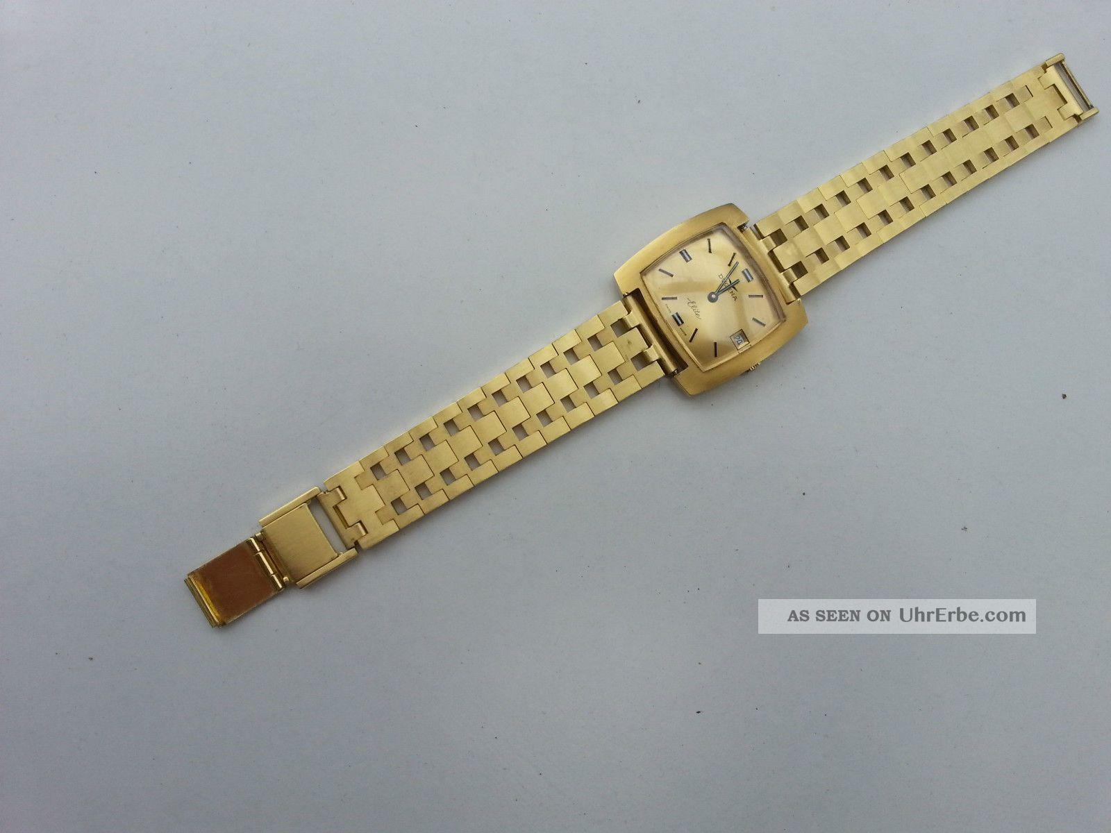 Dugena Elite Herren Armbanduhr Armbanduhren Bild