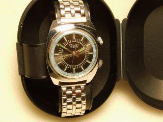 Poljot Armbanduhr Mit Weck - Alarmfunktion Ungetragen Bild