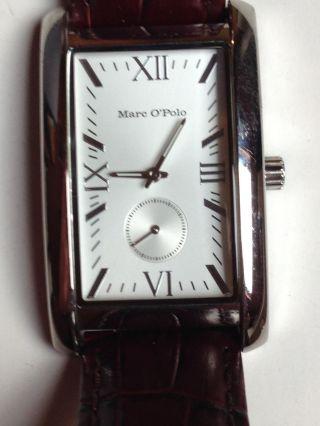 Marc O´polo Herren Uhr 4200302 Braun Bild