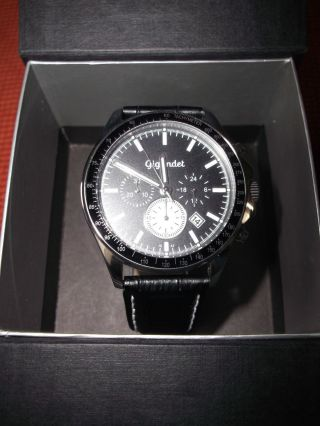 Herren Armbanduhr Gigandet Volante Quarz Chronometer Ovp Bild