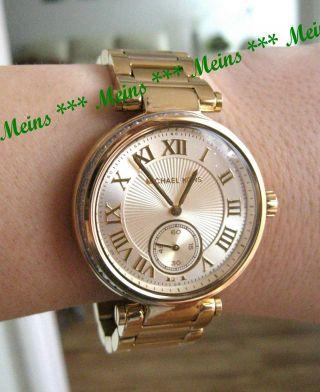 Michael Kors Uhr Mk5867 Skylar Gold Parker Damenuhr Neues Modell Bild