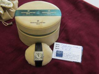 Damen Armbanduhr Frederique Constant 1393738 Und Ungetragen Aus Privatbesitz Bild