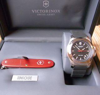 Victorinox Uhr Sonderedition Inox I.  N.  O.  X Wenige Tage Alt Swiss Made Bild