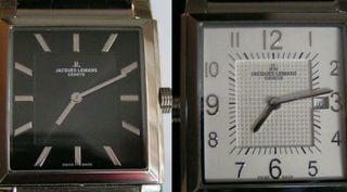 Jacques Lemans Geneve G206/ 2 Uhren In Einem/ 2 Zeitzonen Bild
