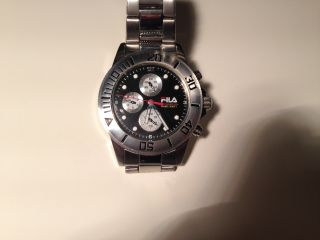 Fila Chronograph Herren Armband Uhr,  Ungetragen Bild