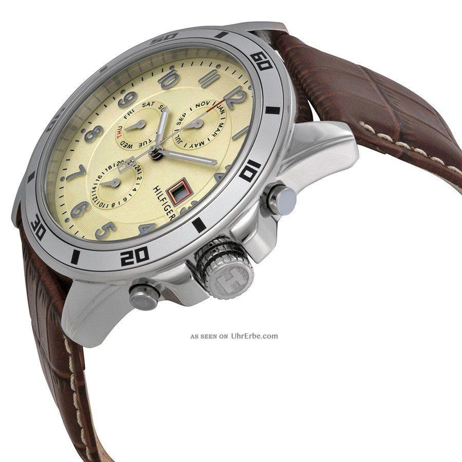 tommy hilfiger herrenuhr chronograph herren armband uhr. Black Bedroom Furniture Sets. Home Design Ideas