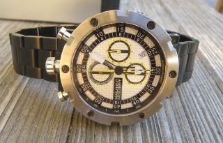 Nautec Bullhead Armbanduhr,  Chronograph Watch,  Saphirglas,  100m Wr,  Herrenuhr Bild