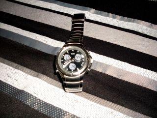 Hau - Armbanduhr Chronograph Von Tcm Ungetragen Schwere Ausführung 130 Gr. Bild