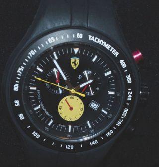 Ferrari Chrono Herren Uhr F1 Jumbo Chronograph Titanium Bild