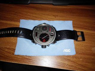 Diesel Uhr Xl Mr.  Daddy,  Mit Radar,  4 Uhrwerke -,  Zertifikat,  Rechnung Bild