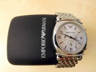 Emporio Armani Herren Chronograph Armband Uhr Ar0315 Bild