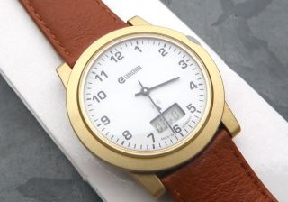 Eurochron Funkuhr,  Armbanduhr,  Herrenuhr,  Radio Controlled,  Dcf Watch,  Neuwertig Bild