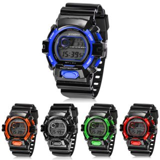 Multifunction Digital Led Quartz Alarm Date Sport - Mann - Armbanduhr Uhr Bild