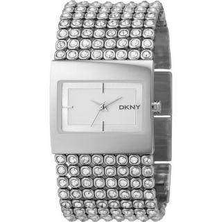 Dkny Glitzer Damenuhr Glitzer Ny4661 Ladies Donna Mit Steinen Uhr Watch Gold Bild