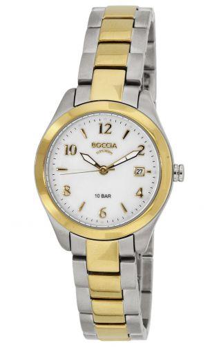 Boccia Uhr Titan Bicolor Damen - Armbanduhr 3224 - 02 Bild