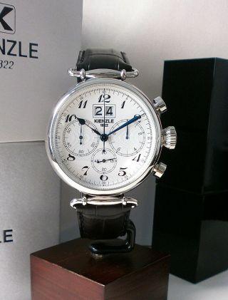 Kienzle Herrenuhr Chronograph Leder Armband Bild