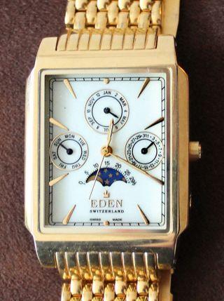 Schweizer Armbanduhr Der Marke Eden Bild