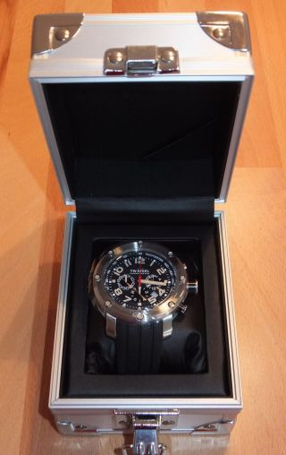 Tw Steel Grandeur Tech Tw120 Armbanduhr Für Herren Uhr Chronograph & Ovp Bild
