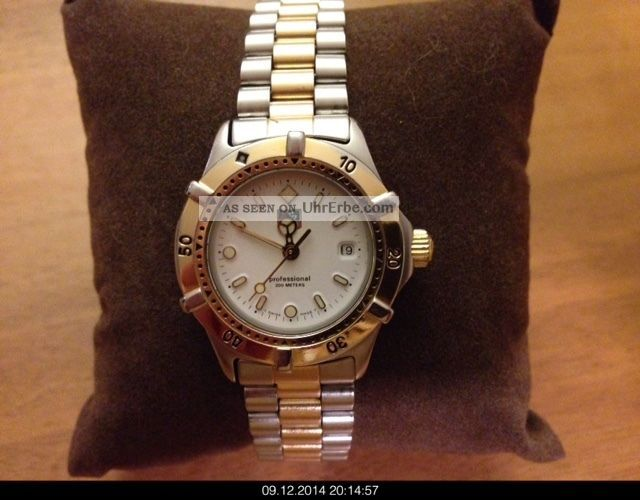 Tag Heuer Professional 200 Meters Bicolor Stahl/gold Armbanduhren Bild