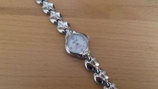Bugor Damenarmband - Uhr Mit Edelstahl Gliederarmband - Ungetragen Bild