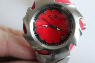 Oakley Blade Uhr Rot Selten Rar Bild