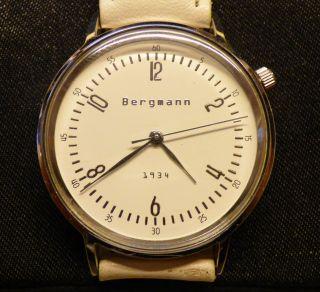 Bergmann 1934,  Herren - Armbanduhr Bild