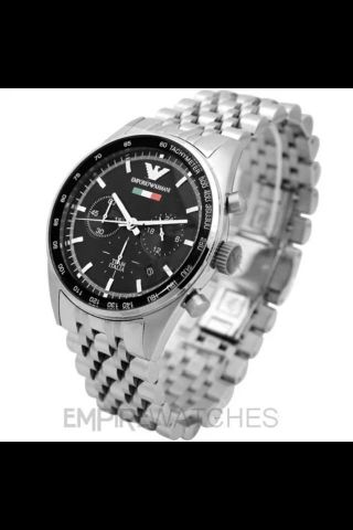 Emporio Armani Chronograph Uhr Ar5983 Tazio Italia 349 Uvp Bild