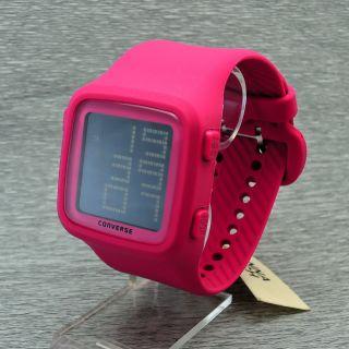 Damenuhr Herrenuhr Converse Vr002 - 610 Digital Uhr Quarzuhr Armbanduhr Bild
