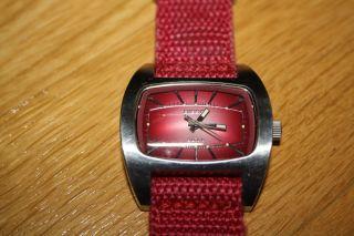 Diesel Damen Uhr Zeiger Rot Armbanduhr Dz2052 Stainless Steel Bild