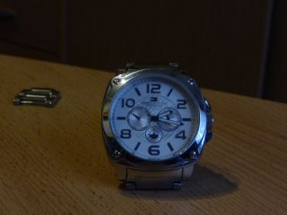 Tommy Hilfiger Herrenuhr Luxus Uhr Xxl ♥ Edelstahl,  Ersatzglieder ♥ Bild