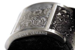 Jacques Lemans La Passion Venice Armbanduhr Für Damen,  Schwarz Silber Bild