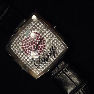 Dkny Donna Karen Damen Armbanduhr Schwarz Lederarmband Edelstahl Np: 185€ Bild