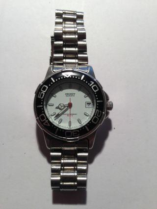 Orient Quarz Armbanduhr Bild