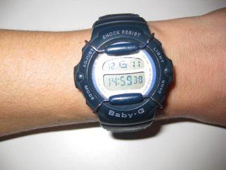 Casio Baby - G Armbanduhr Schwarz Lila W. Bild