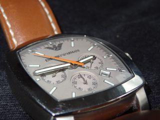 Emporio Armani Ar5816 Uvp 269€ Top Edel Luxus Uhr Datum Chronograph Quartz Ovp Bild