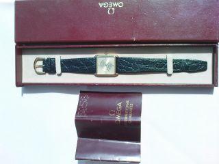 Omega Armbanduhr Bild