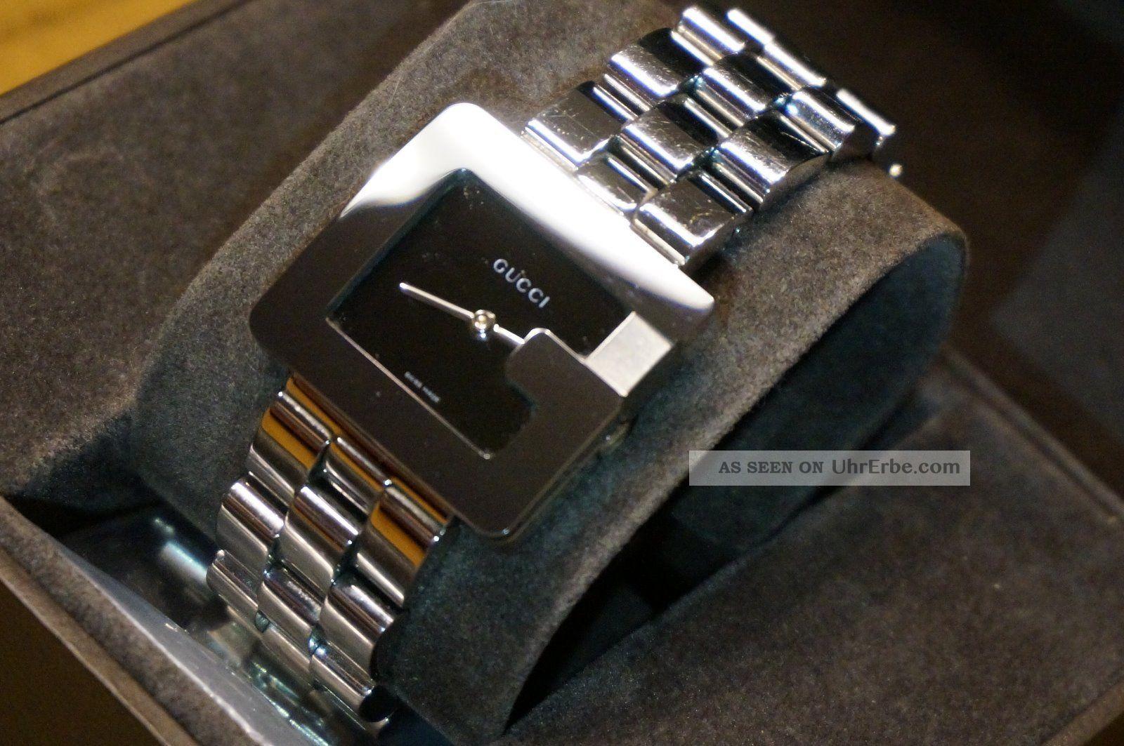 gucci damenuhr armbanduhr g schweizer uhrwerk. Black Bedroom Furniture Sets. Home Design Ideas
