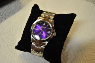 Swiss Military Hanowa Quartz Damen Uhr Mit Datumsanzeige Aus Edelstahl Bild