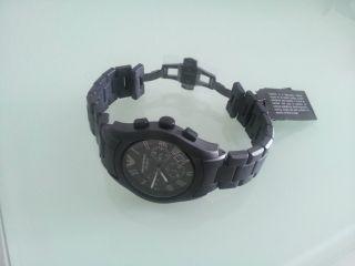 Brandneu/ovp Emporio Armani Ar1457 Ceramica Herren Uhr Armbanduhr Keramik Bild