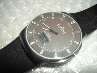 Skagen 732xltlm - G Titan Funkuhr Herren - Armbanduhr Vom Sammler Top Bild