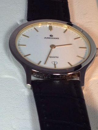 Junghans Qurtz Uhrwerk Herren Uhr Bild
