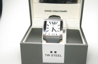 Tw Steel Uhr Herren Grau Leder Twce3002 Np319€ Anschauen Classic Bild