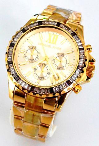 Michael Kors Mk5874 399€ Damenuhr Gold Chrono Damen Uhr Bild