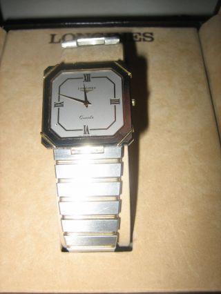 Longines Herren Armbanduhr Bild