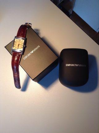 Emporio Armani Herren Armbanduhr Bild