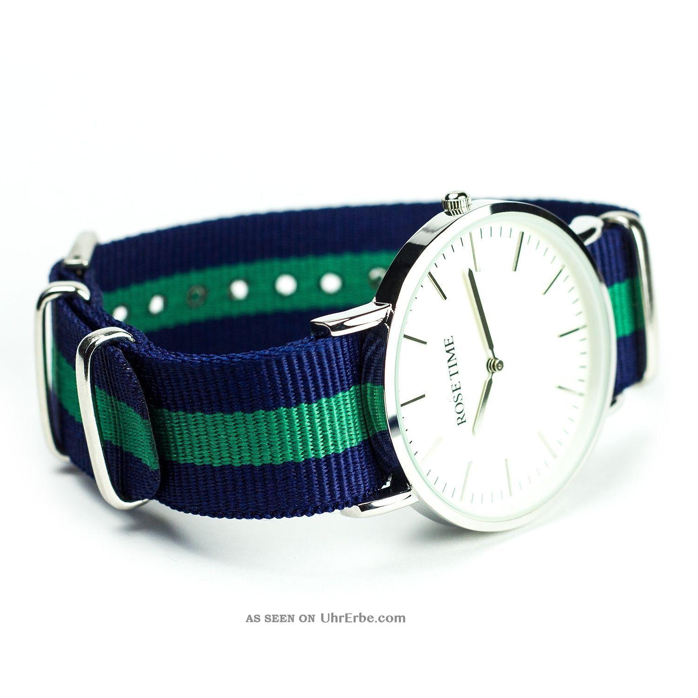 Moderne armbanduhr  Rose Time Nato Strap Armbanduhr Unisex Nato Uhr Moderne Armbanduhr ...